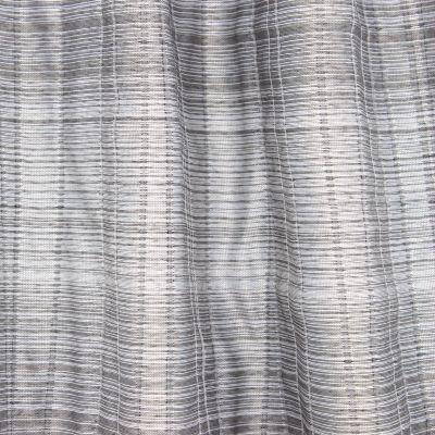 Double-sided jacquard veil - grey