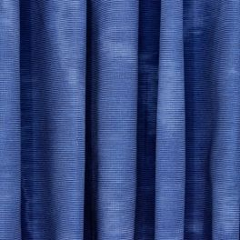 Moire upholstery fabric - blue
