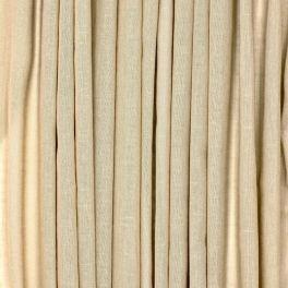 Voile transparent aspect lin pailleté - beige