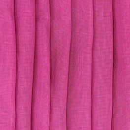 Doorzichtige sluier met gelood linnen aspect - fuchsia
