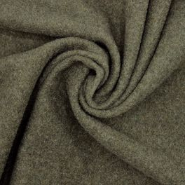 Extensible wool - cachou