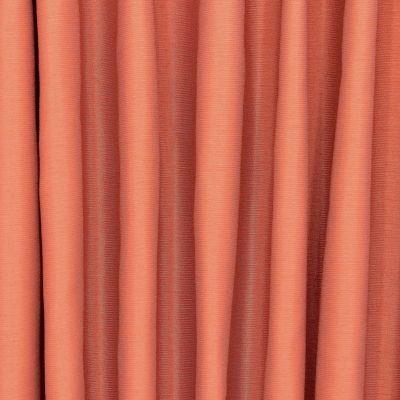 Slightly satinised upholstery fabric - rust