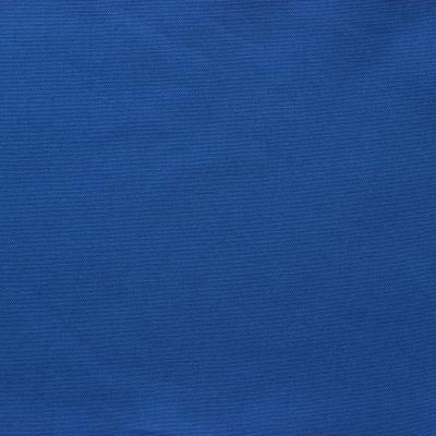 Tissu en coton uni bleu de klein