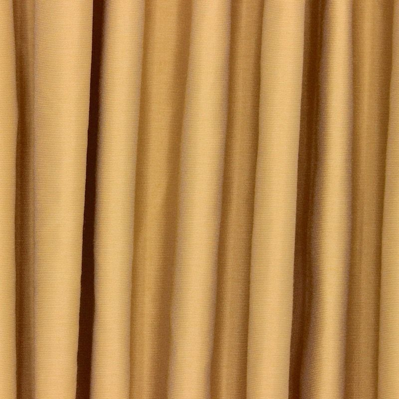 Slightly satinised upholstery fabric - old gold