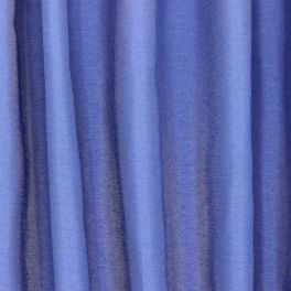 Slightly satinised upholstery fabric - cornflower blue