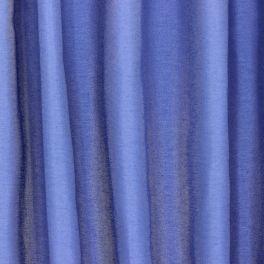 Tissu d'ameublement légèrement satiné - bleu barbeau