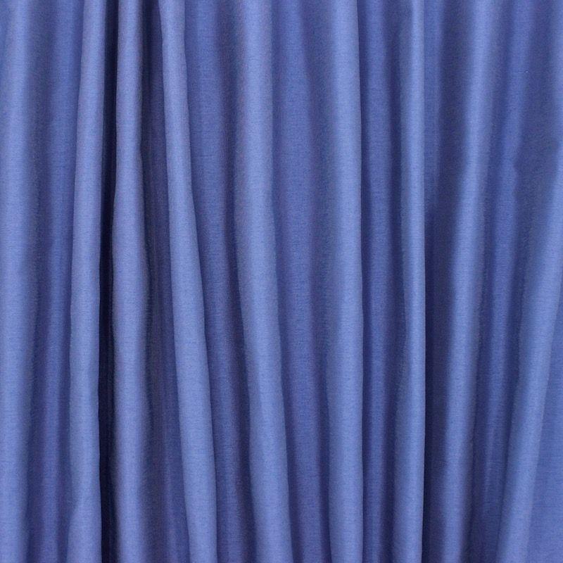 Slightly satinised upholstery fabric - cornflower blue