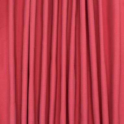 Slightly satinised upholstery fabric - red