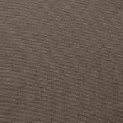 Tissu en coton uni taupe grisé