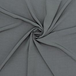 Tissu viscose uni - gris