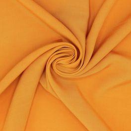 Tissu viscose uni - orange