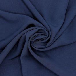 Tissu viscose uni - marine