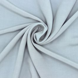Tissu viscose uni - vert de gris