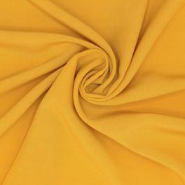 Tissu viscose uni - ocre