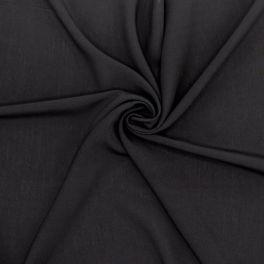 Stof in polyester - zwart en wit