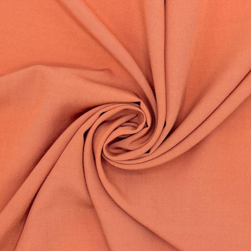 Tissu viscose uni - fauve