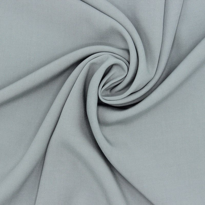 Tissu viscose uni - sauge
