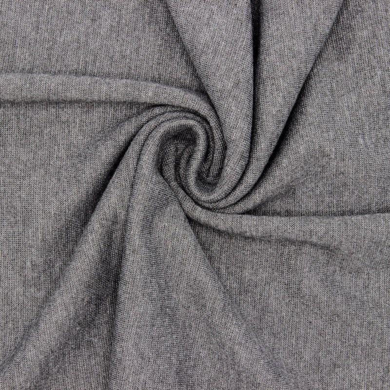 Bord côte tubulaire gris moyen
