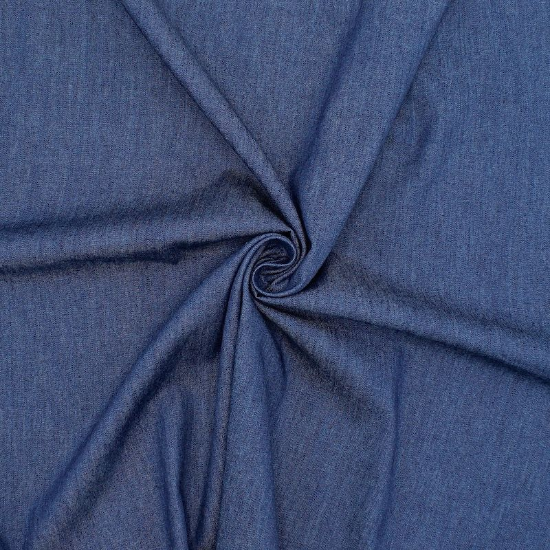 Tissu jeans léger - bleu foncé