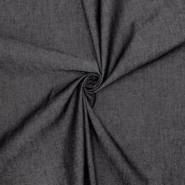 Tissu jeans léger - noir