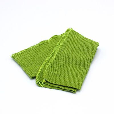Bord côte ceinture vert