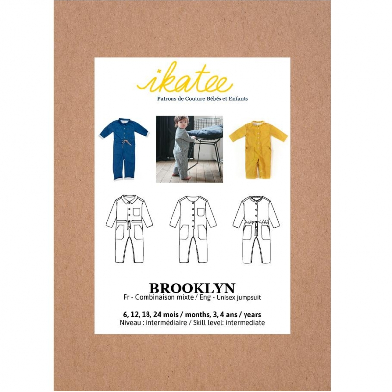 Patron combinaison mixte Brooklyn