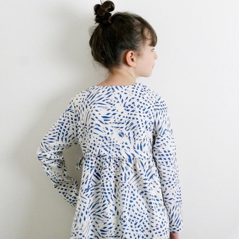 Patron robe portefeuille Violette