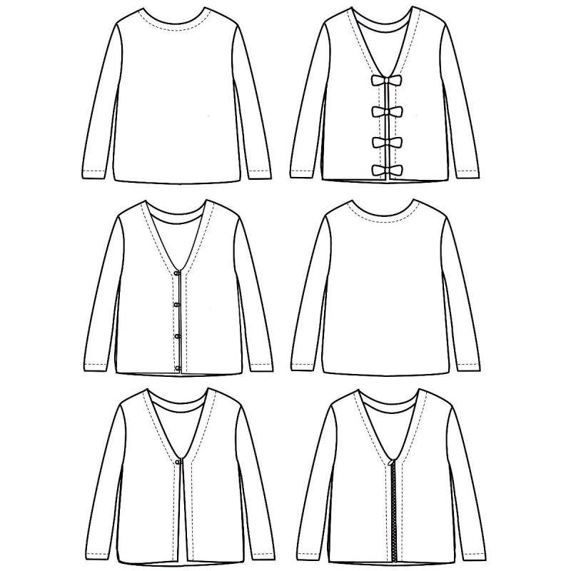 Pattern vest Masha