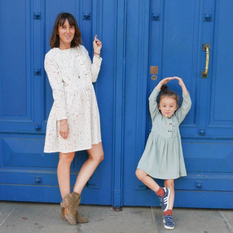 Patroon bloes of jurk Elona mum