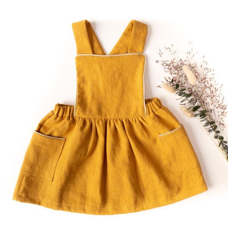 Patroon schort jurk Milano