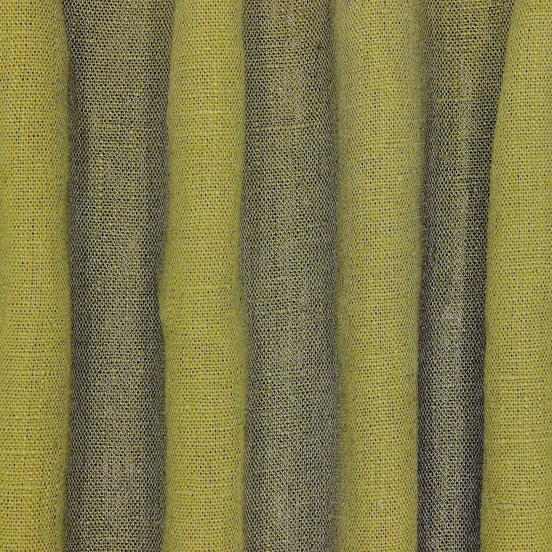 100% washed linen - plain avocado green