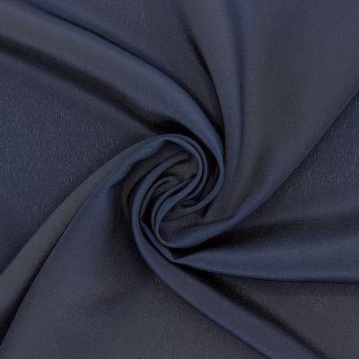 Crêpe fabric 100% silk - navy blue