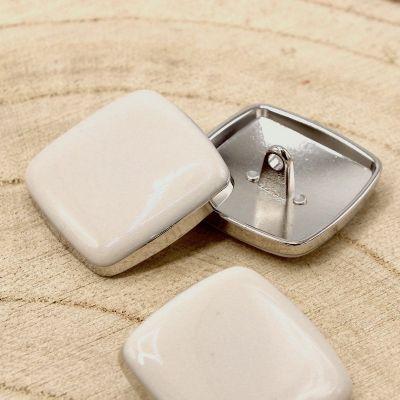Square button - mastic