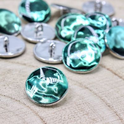 Hammerd round button - green