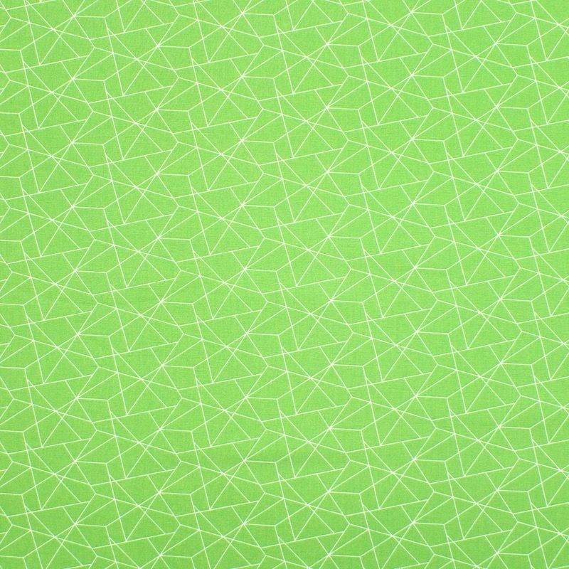Tissu coton géométrique - prairie