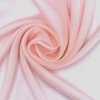 Mousseline de soie - rose pastel