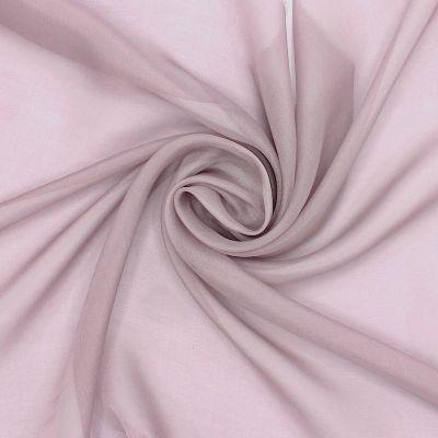 Mousseline de soie - cendre de rose