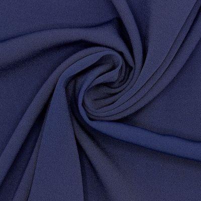 Tissu crêpe 100% soie marine