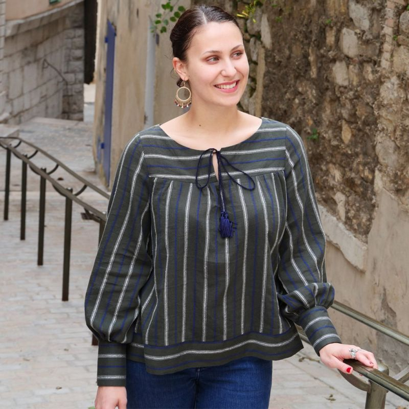 Patron blouse Femme Bardot