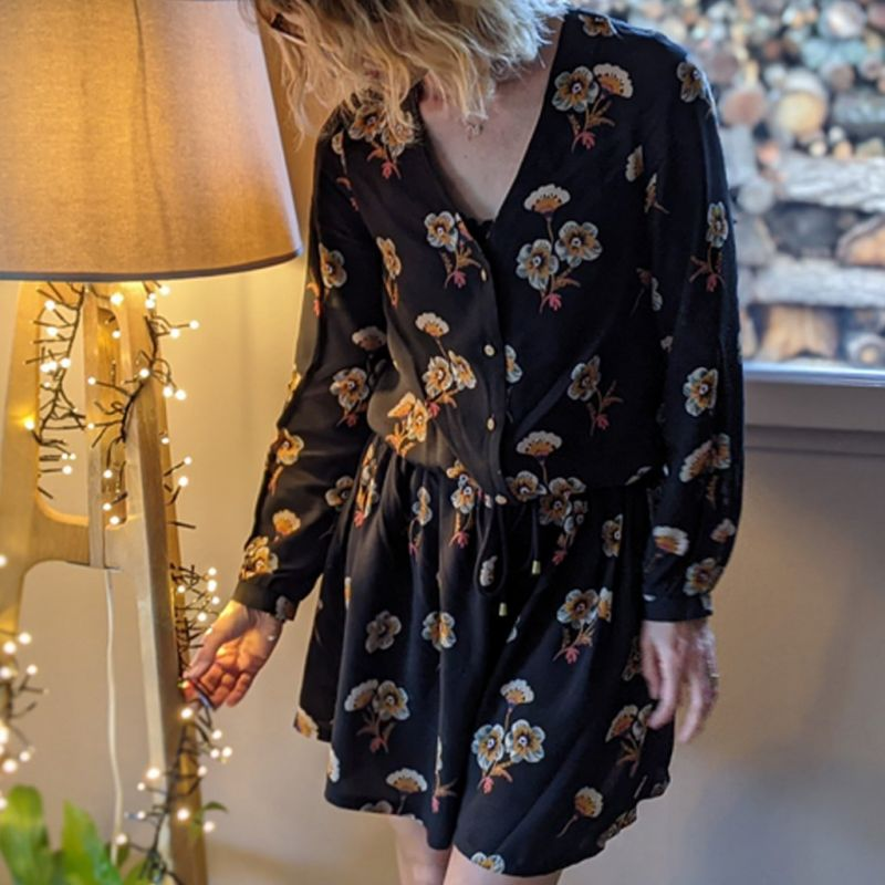 Pattern shirts and dress woman Joséfa