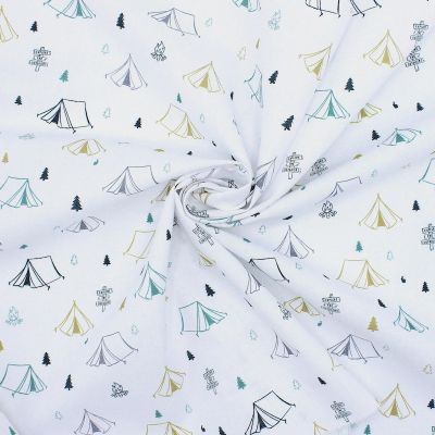Tissu tente camping - vert