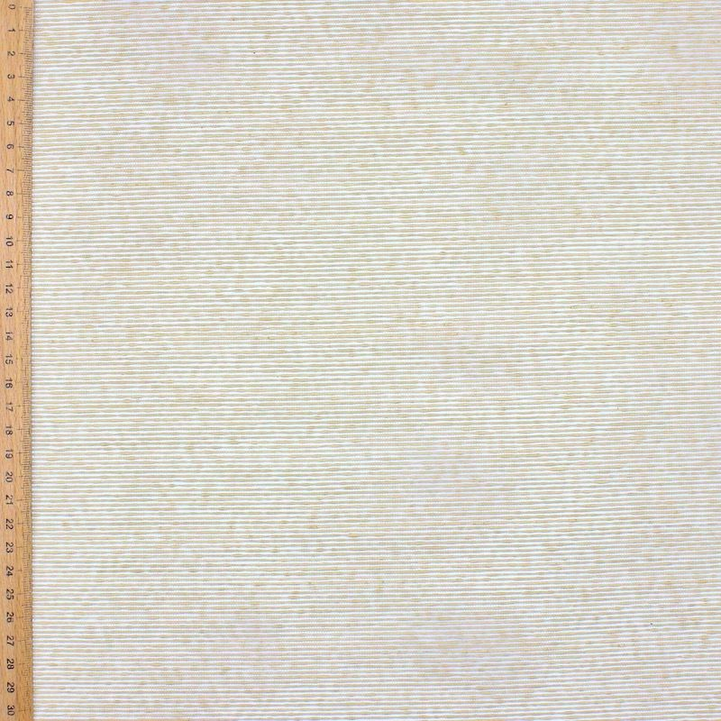 Jacquard cloth 100% cotton - natural beige