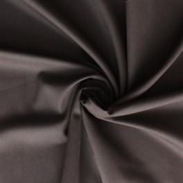 Tissu en coton et Spondex brun