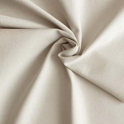 Tissu en coton et Spondex beige