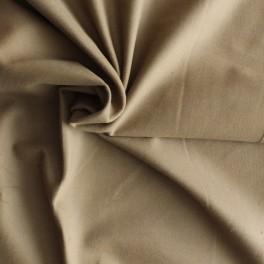 Tissu en coton gratté brun