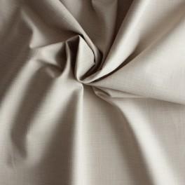 Tissu en coton Emerisé beige