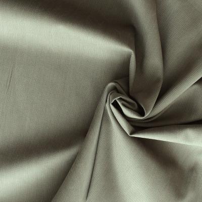 Tissu en coton Emerisé kaki
