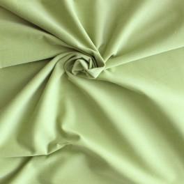 Tissu en coton et Spondex vert