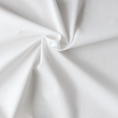 Tissu grande largeur en coton blanc