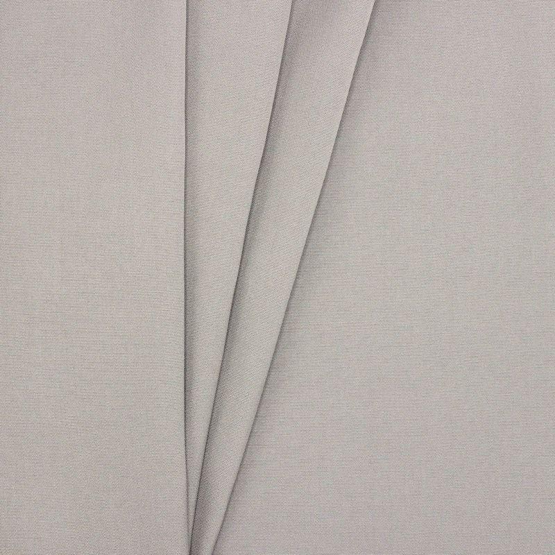 Buitenstof - effen grijs